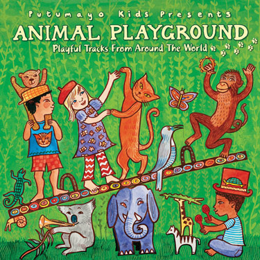 Animal Playground CD Travel Music CD