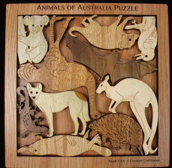 Animals of Australia Puzzle Wildlife