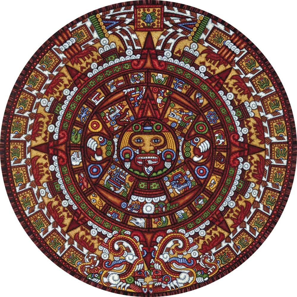 Aztec Calendar Jigsaw Puzzle Puzzlewarehouse Com