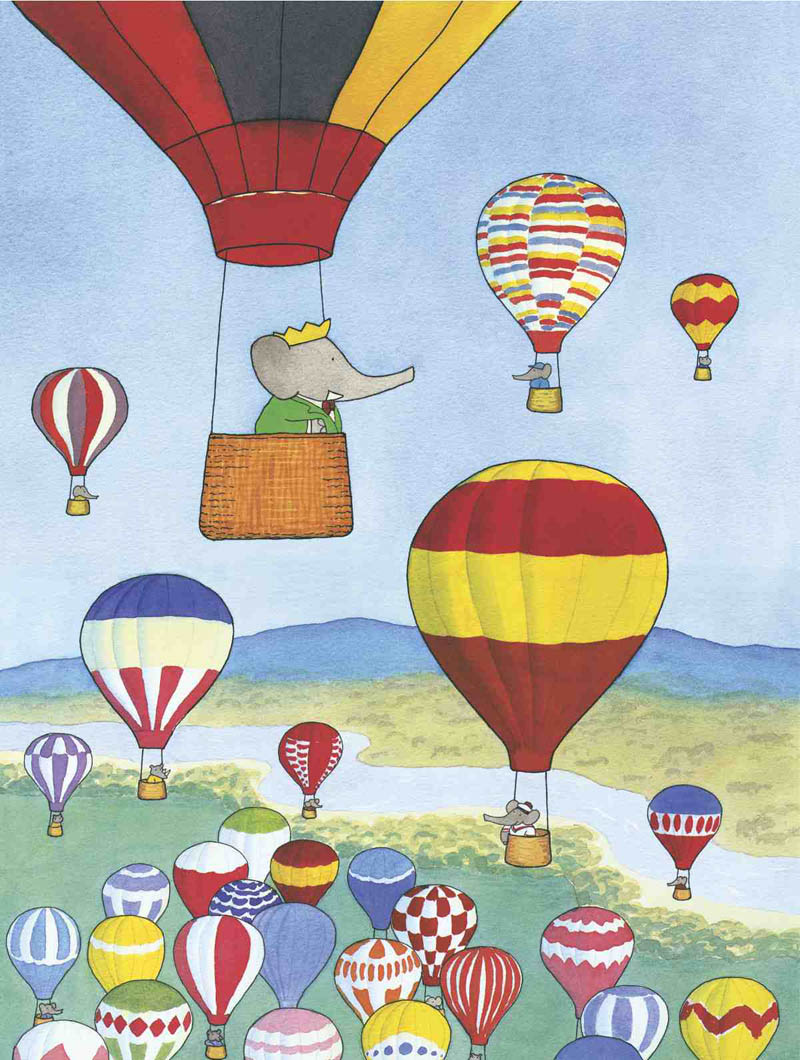 Babar et les Ballons Balloons Children's Puzzles