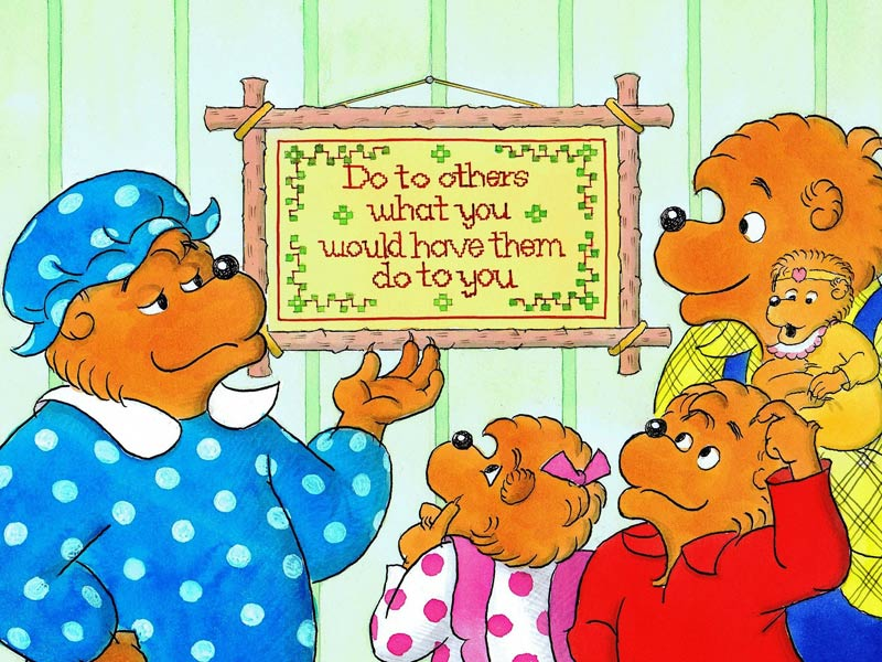 The Golden Rule Berenstain Bears Jigsaw Puzzle