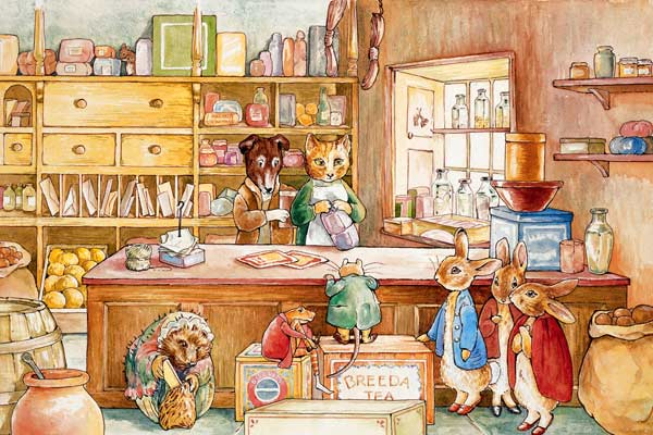 Ginger & Pickles (Peter Rabbit) Cartoons Jigsaw Puzzle