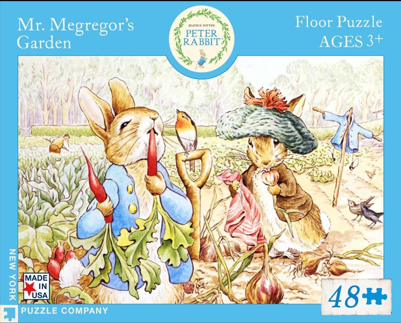 Mr. McGreggor's Garden (Peter Rabbit) Garden Jigsaw Puzzle