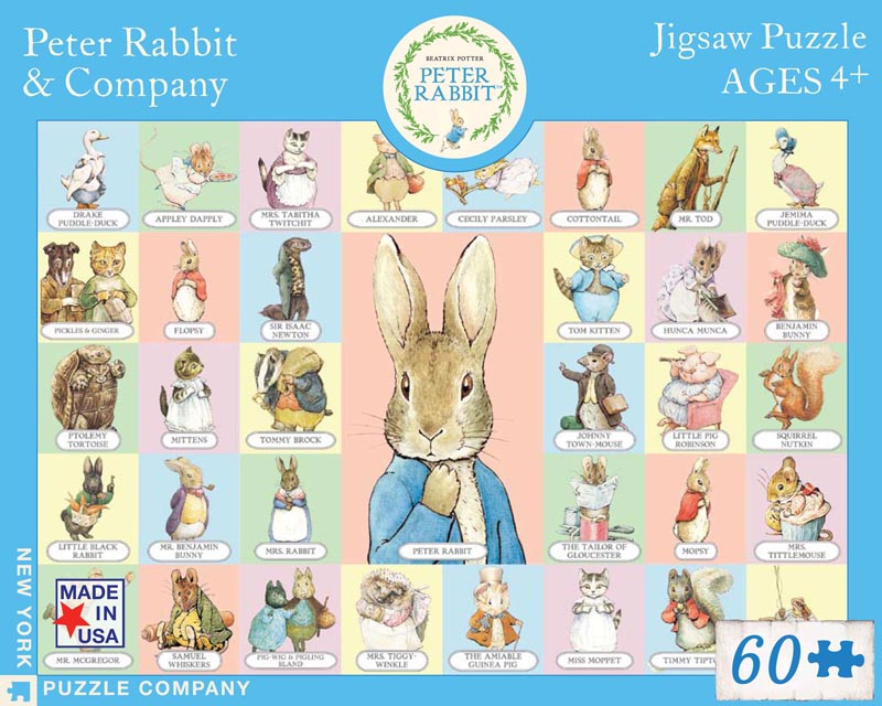 Peter Rabbit & Company (Peter Rabbit) Cartoons Jigsaw Puzzle