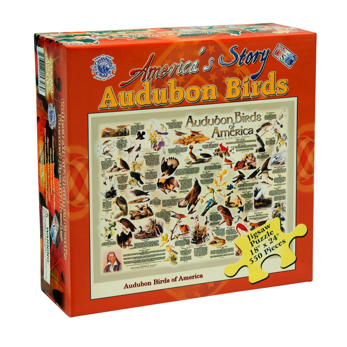Audubon Birds of America Birds Jigsaw Puzzle