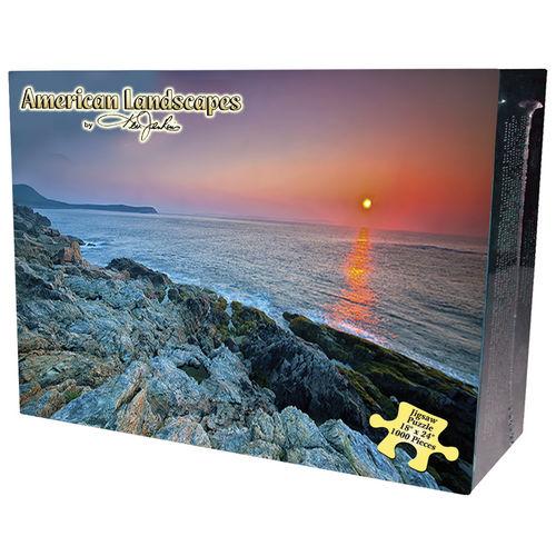 Acadia Shoreline Beach Jigsaw Puzzle