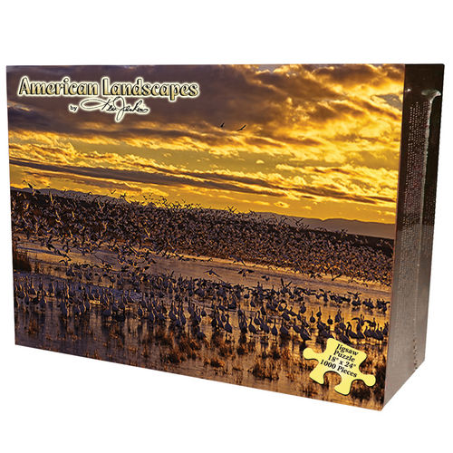 Rio Grande Bird Sanctuary Birds Jigsaw Puzzle