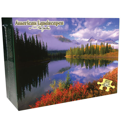 Rocky Mountains Mountains Jigsaw Puzzle