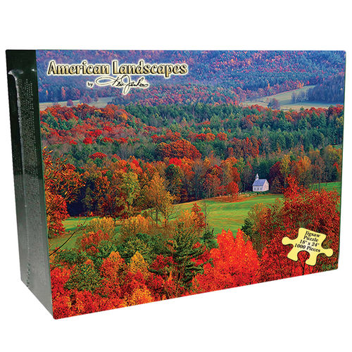 Smoky Mountains - Scratch and Dent Countryside Jigsaw Puzzle