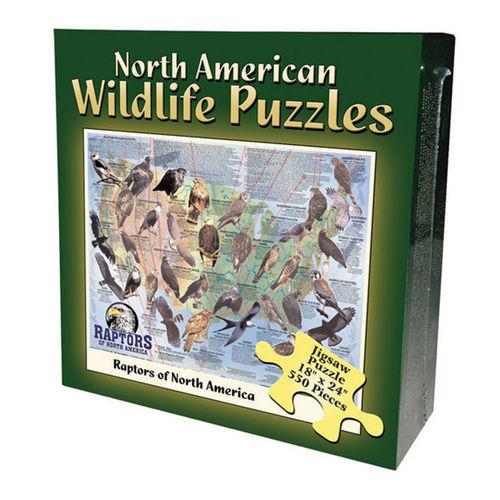 Raptors (North American Wildlife Jigsaw Puzzle) Birds Jigsaw Puzzle