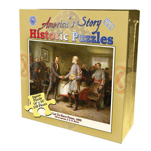 Let Us Have Peace (America's Story) Famous People Jigsaw Puzzle