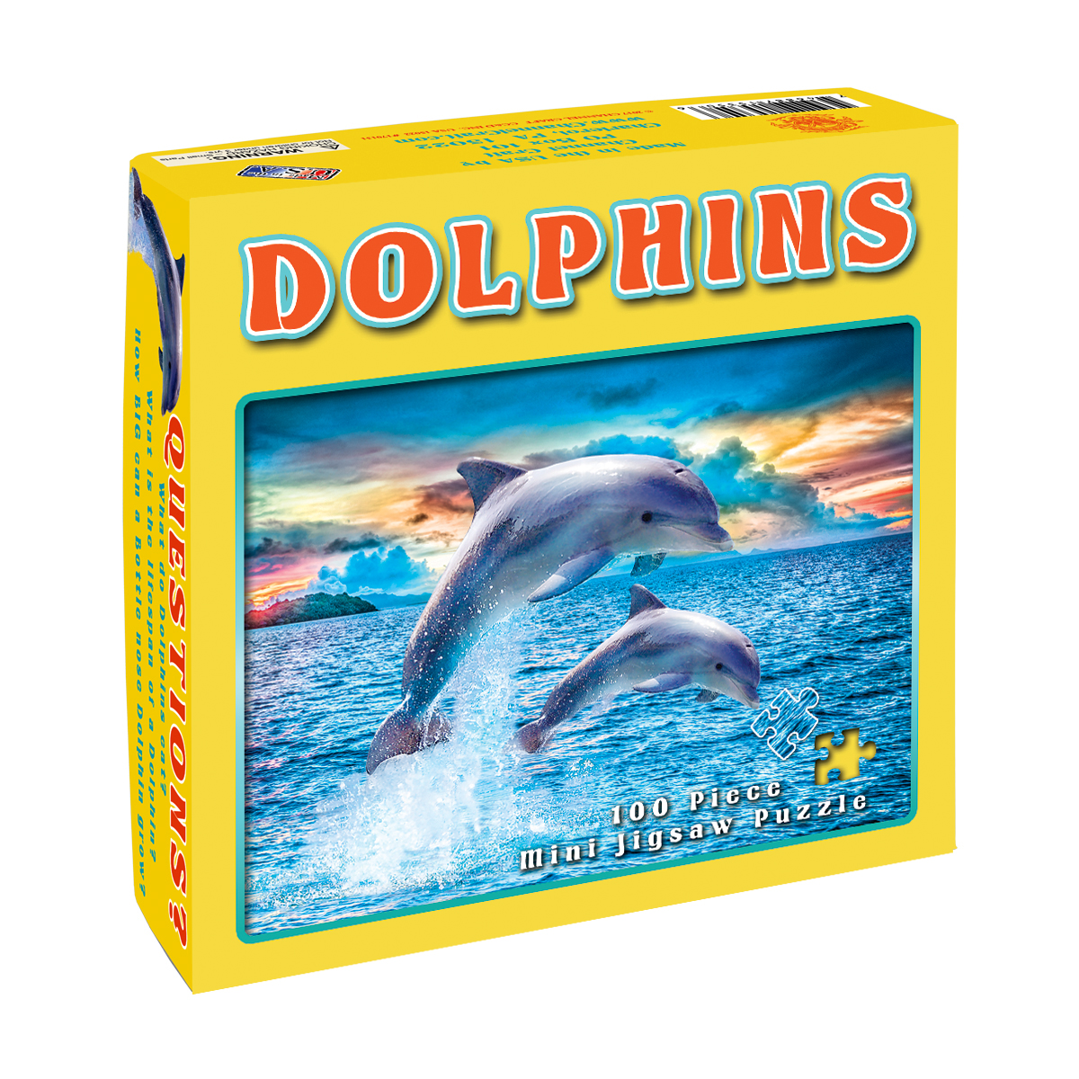 Dolphins (Mini) Dolphins Jigsaw Puzzle