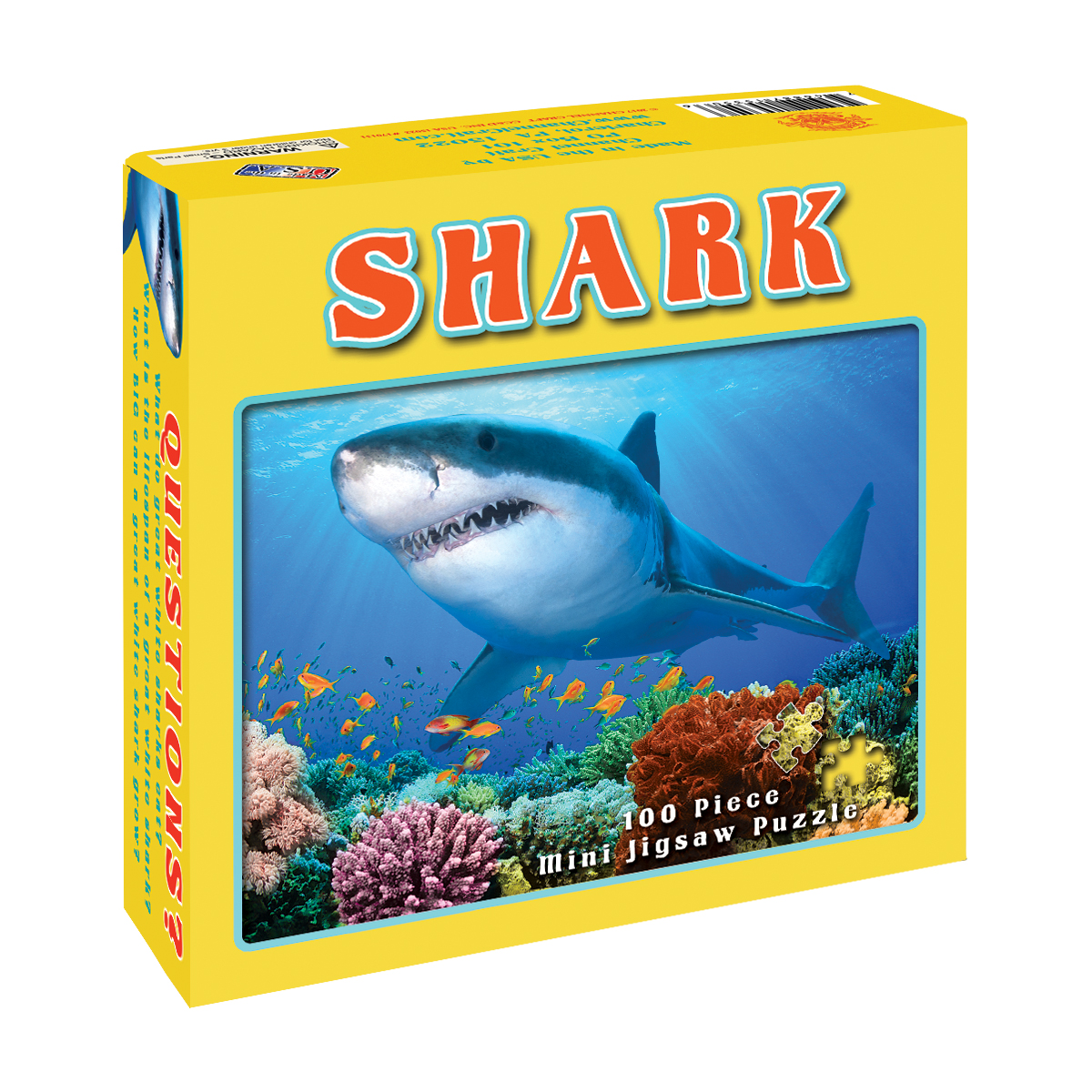 Shark Under The Sea Jigsaw Puzzle