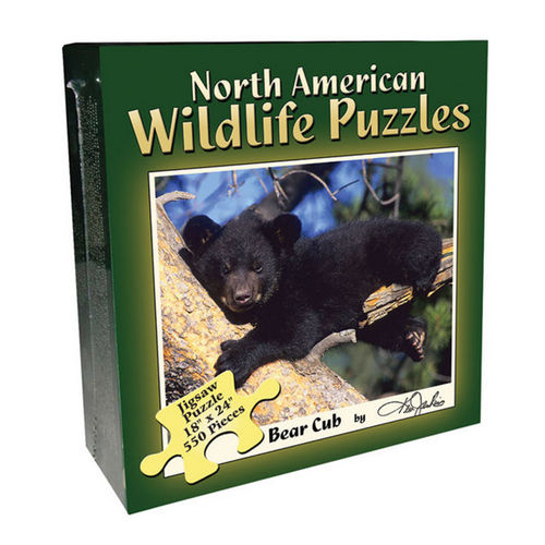 Bear Cub Wildlife Jigsaw Puzzle