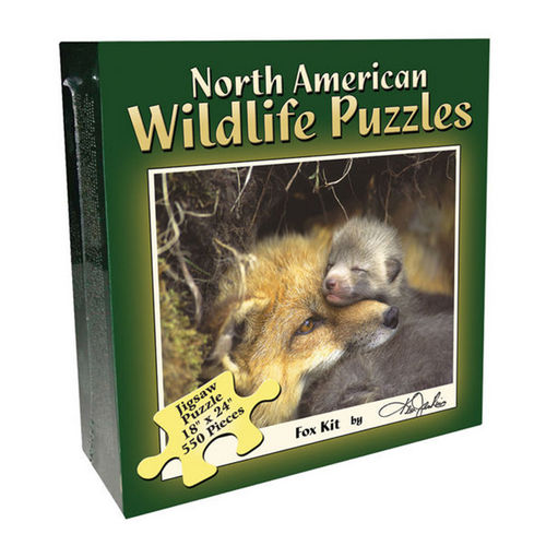 Fox Pup (North American Wildlife Jigsaw Puzzle) Wildlife Jigsaw Puzzle
