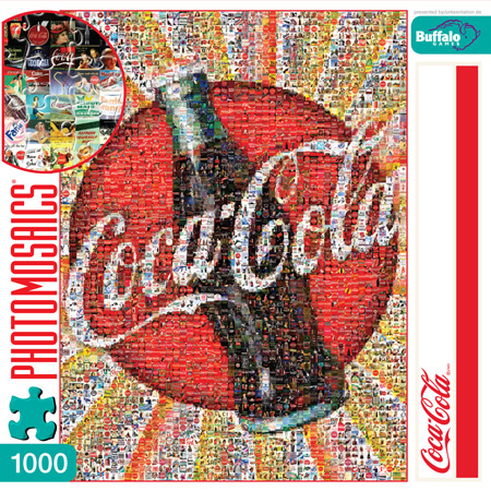 Coca-Cola Americana Jigsaw Puzzle