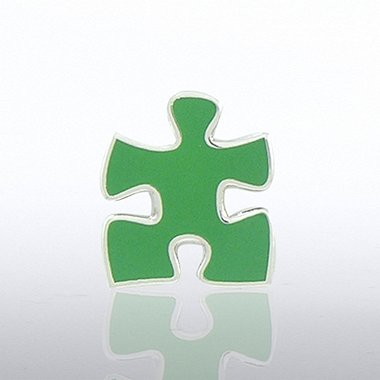 Lapel Pin - Essential Piece Green