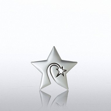 Lapel Pin - Swirly Star Novelty