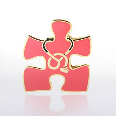 Lapel Pin - Essential Piece Stethoscope Novelty