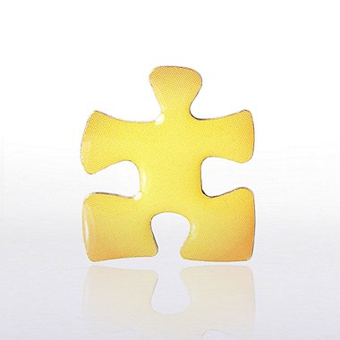 Lapel Pin - Essential Piece Yellow Novelty
