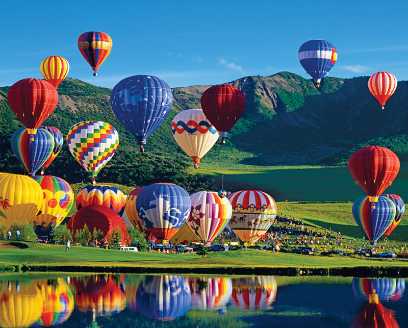 Balloon Bonanza Balloons Jigsaw Puzzle