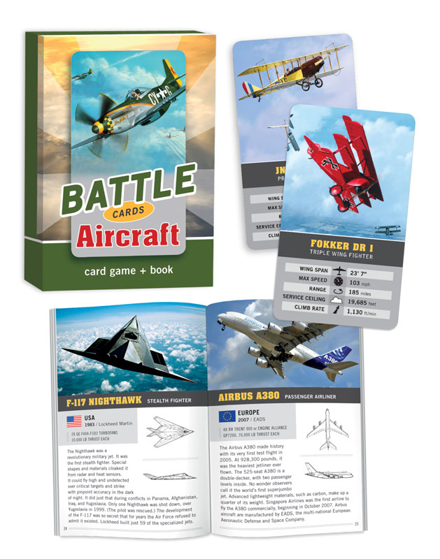Battle Cards: Aircraft Trivia Games Card Game