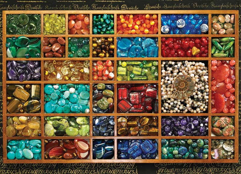 Bead Tray Everyday Objects Jigsaw Puzzle