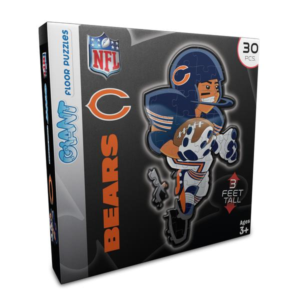 NFL - CHI Bears Floor Puzzle Chicago Jigsaw Puzzle