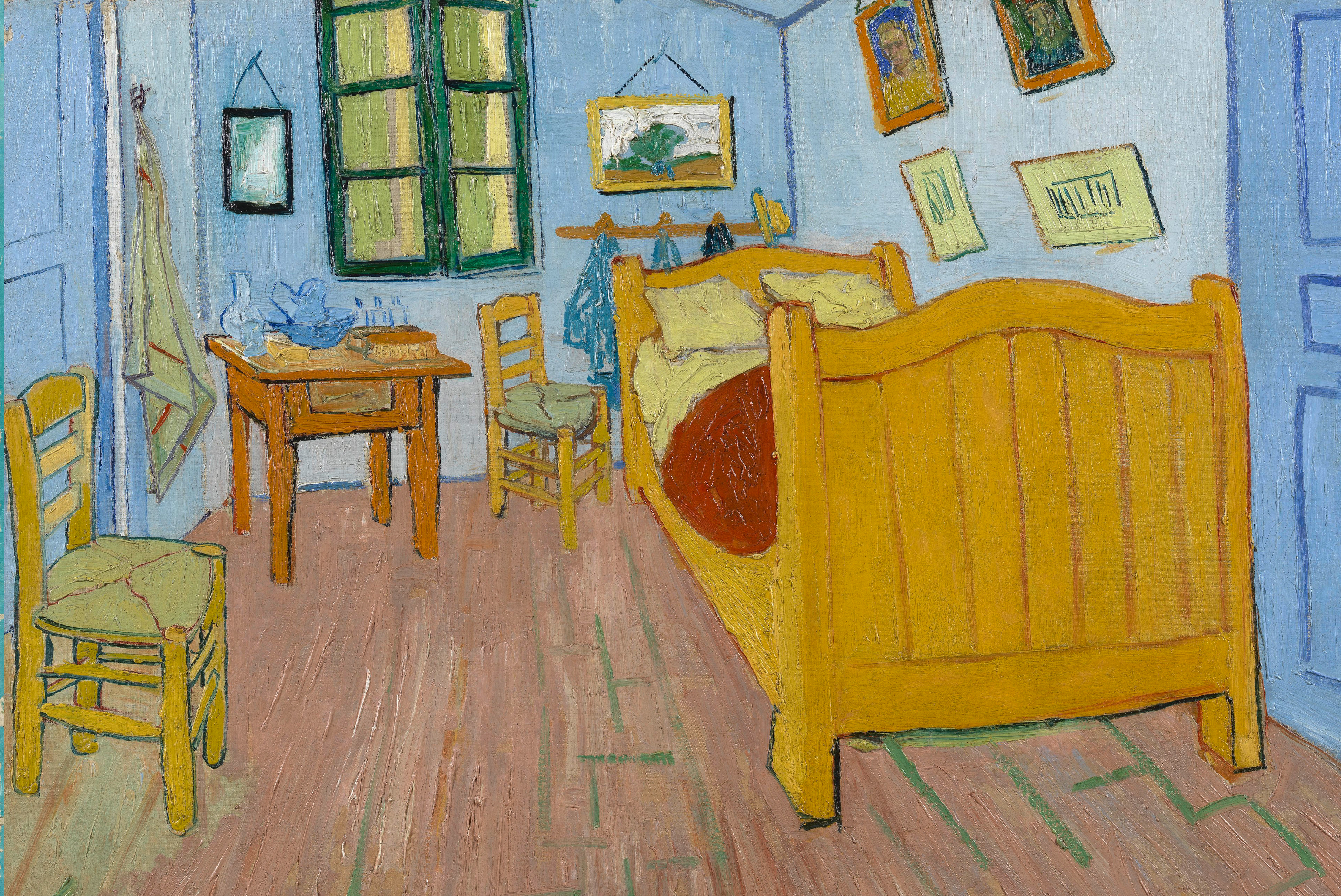 The Bedroom by Van Gogh Fine Art