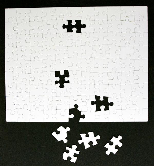 99 Piece Custom Blank Jigsaw Puzzle - 16 x 20 - Scratch and Dent - Scratch and Dent Custom Jigsaw Puzzle