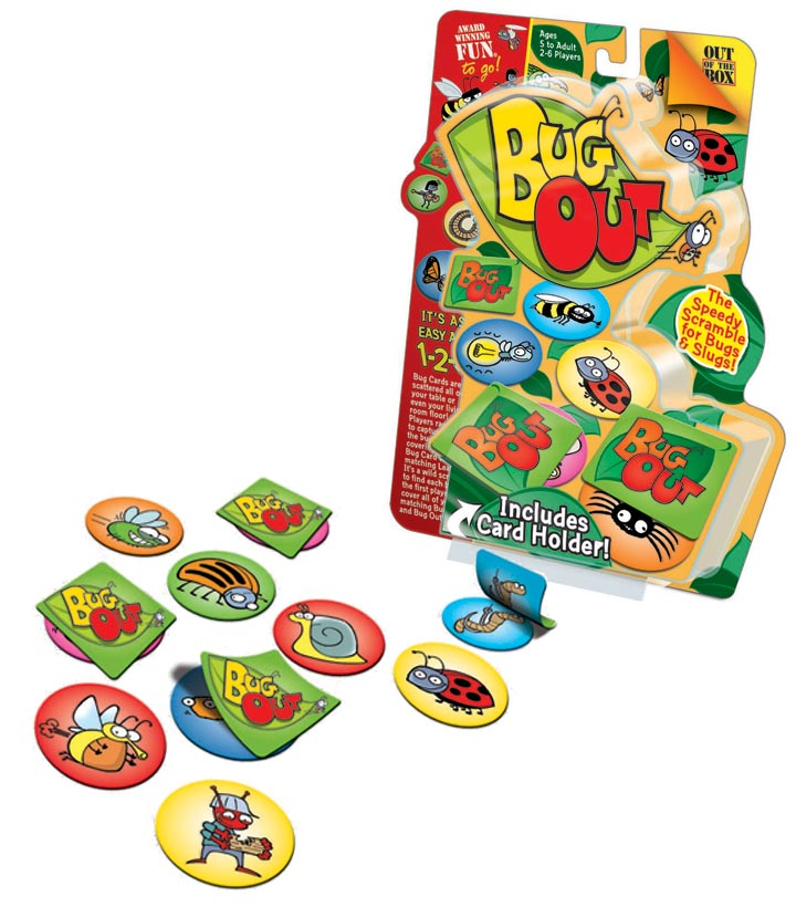 Bug Out Card Game Animals