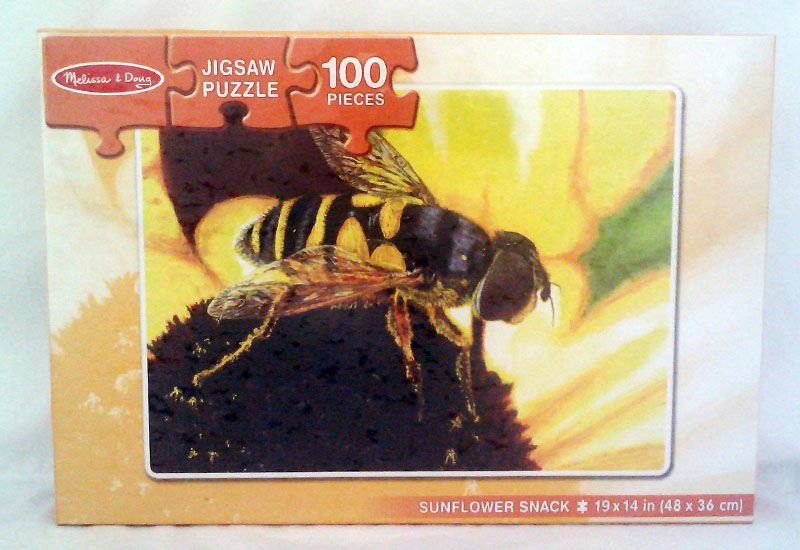 Sunflower Snack Butterflies and Insects Children's Puzzles