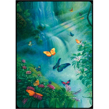 Bridge Playing Cards - Butterflies in the Mist Butterflies and Insects Playing Cards