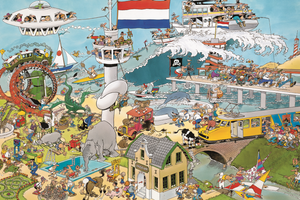 By Land & By Sea Beach Jigsaw Puzzle