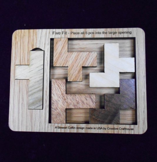 Five Fit Puzzle Small Puzzlewarehouse Com