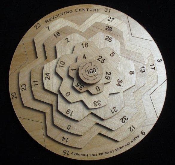 Revolving Century II Math Puzzle