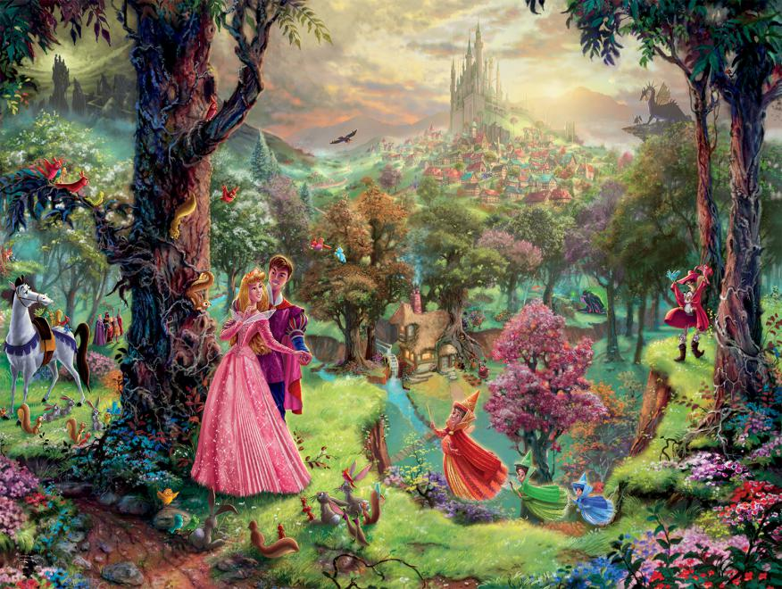 Sleeping Beauty (Disney Dreams) Disney Jigsaw Puzzle