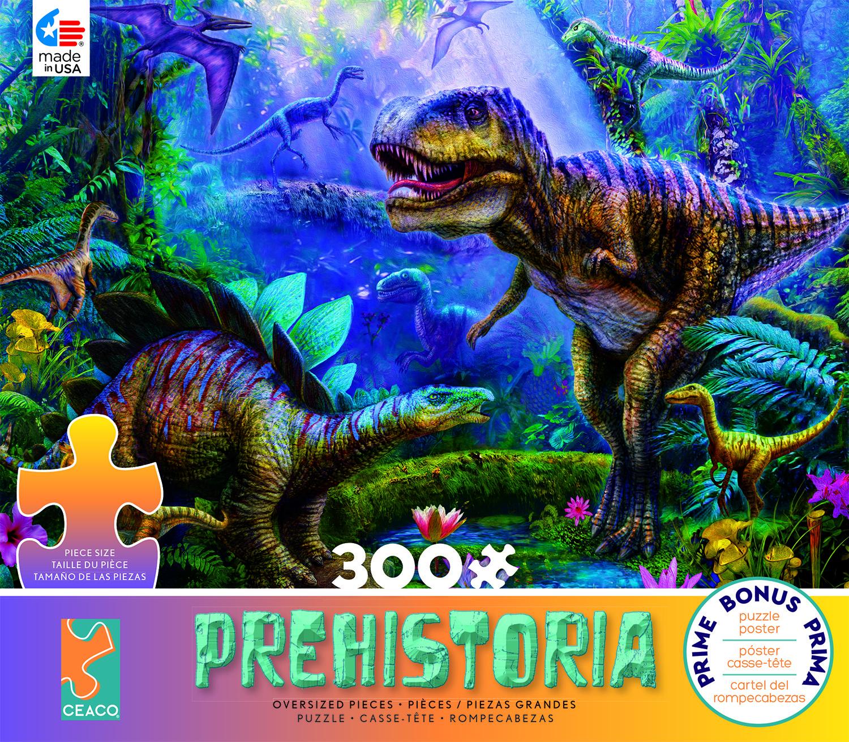 Dino Jungles (Prehistoria) Dinosaurs Jigsaw Puzzle