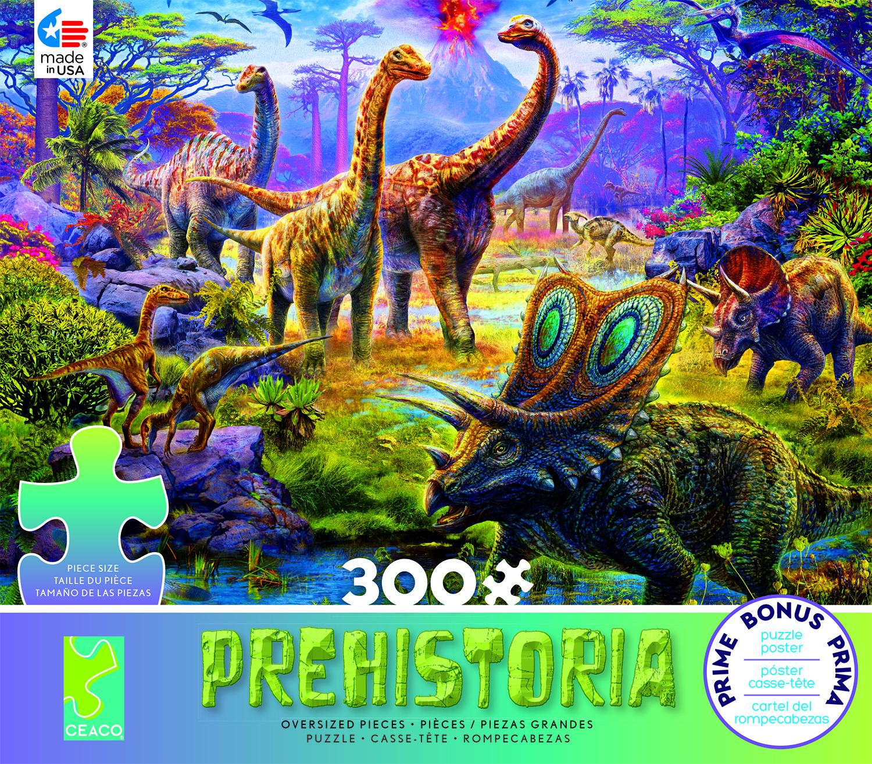 Sauropods (Prehistoria) Dinosaurs Jigsaw Puzzle
