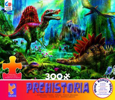 Spinosaur (Prehistoria) Dinosaurs Jigsaw Puzzle