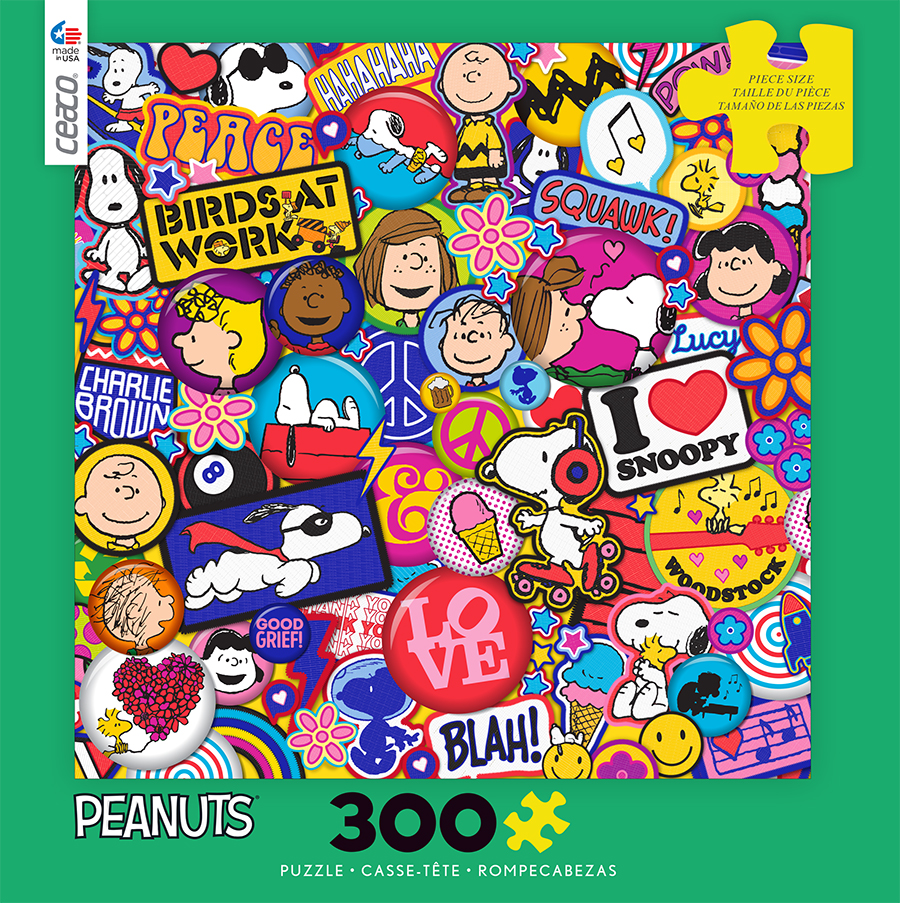 Flair (Peanuts) - Scratch and Dent Cartoons Jigsaw Puzzle