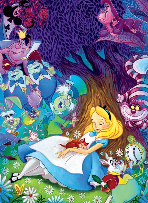 Dreaming in Color (Disney Friends) Disney Jigsaw Puzzle