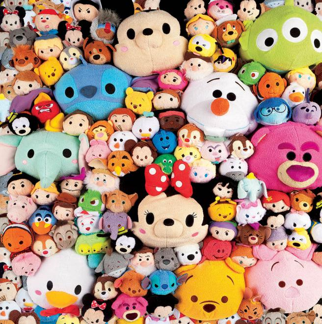 Plush (Disney Tsum Tsum) Disney Jigsaw Puzzle