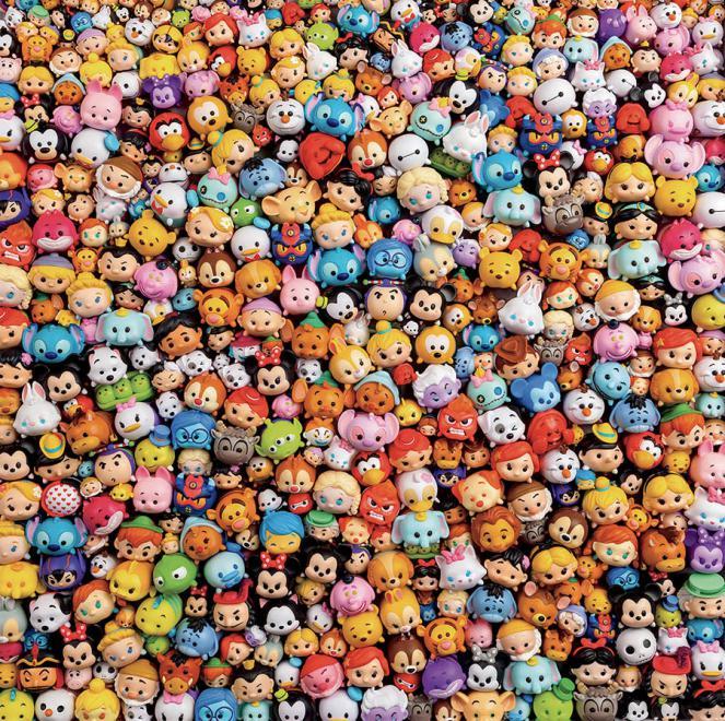 Plastic (Disney Tsum Tsum) Disney Jigsaw Puzzle