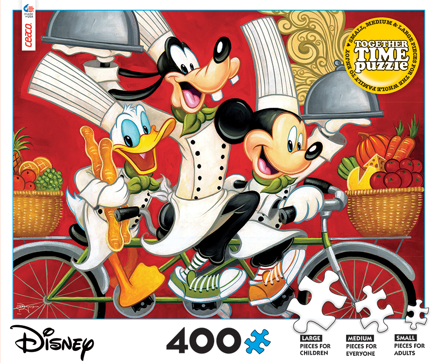 Disney Together Time Disney Jigsaw Puzzle