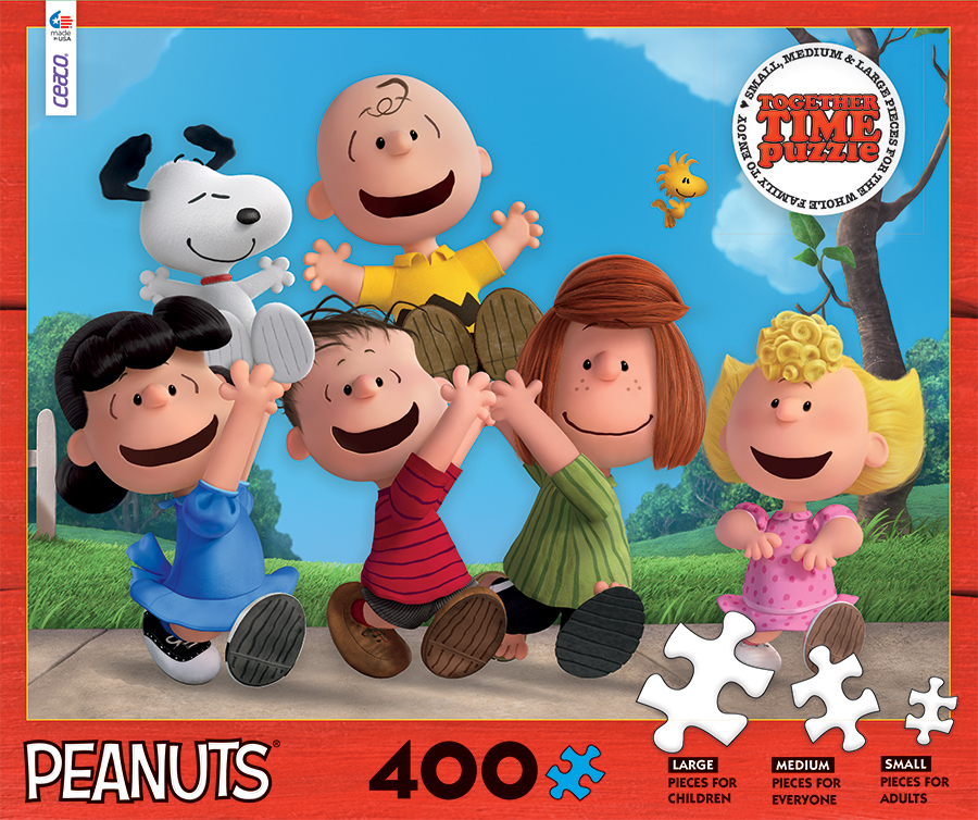 Peanuts Together Time Cartoons Jigsaw Puzzle