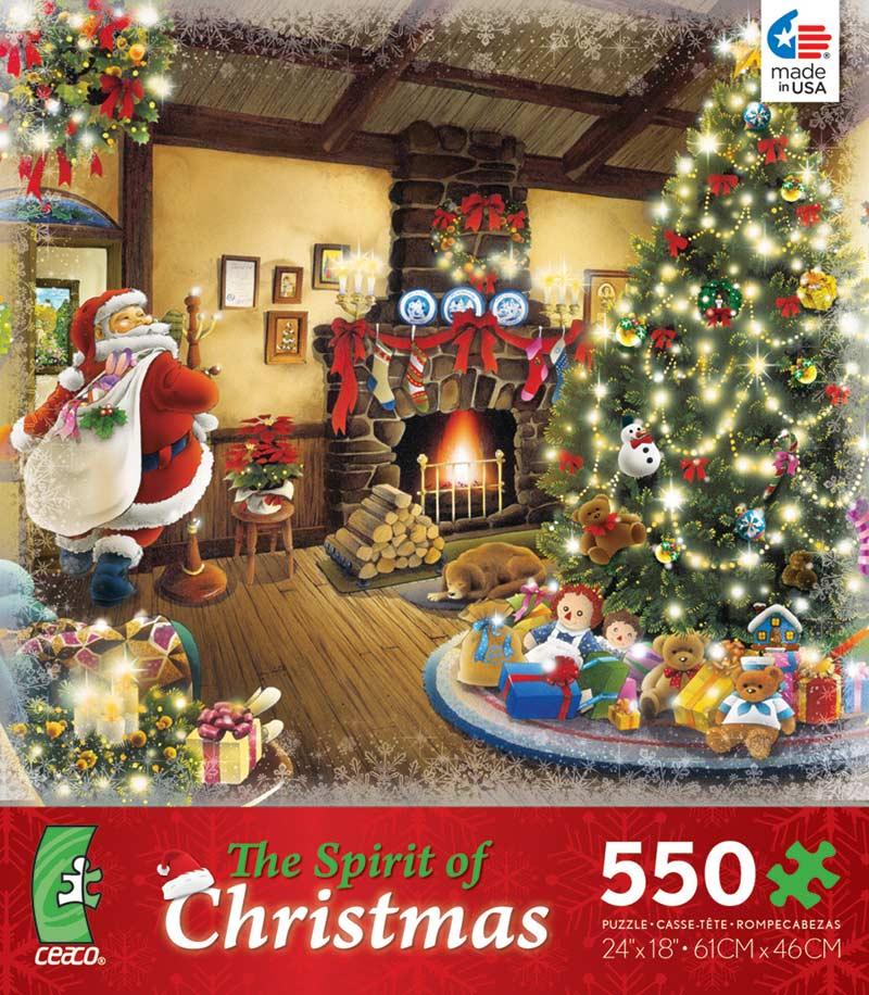 The Spirit Of Christmas   Tree Christmas Jigsaw Puzzle