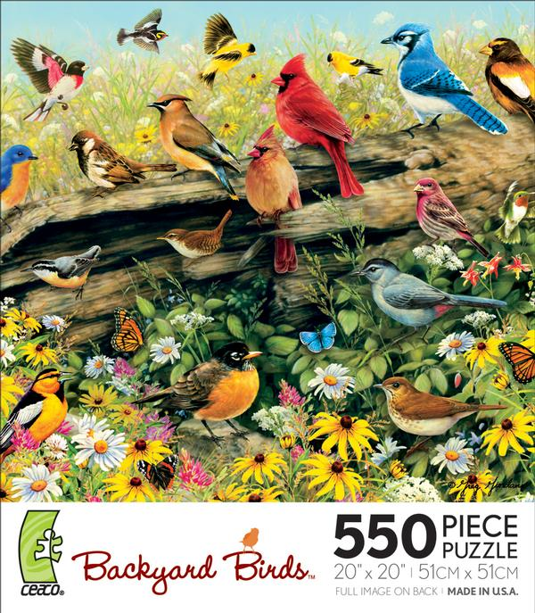Backyard Birds-In the Meadow Birds Jigsaw Puzzle