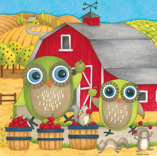 Apple Orchard  (Debbie Mumm) Birds Jigsaw Puzzle