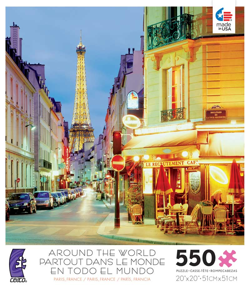 Paris (Around the World) - Scratch and Dent Landmarks / Monuments Jigsaw Puzzle